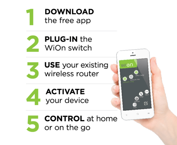 Wion Outdoor Wi-Fi Timer