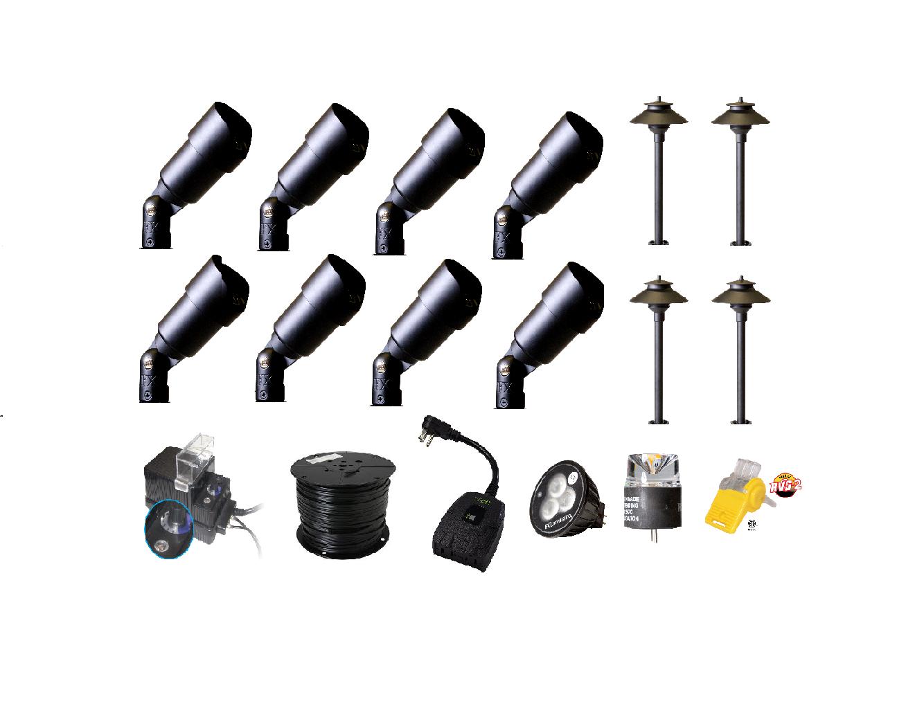 Shop high quality landscape lighting kit wifi control diy kit pl path lights aloadofball Images