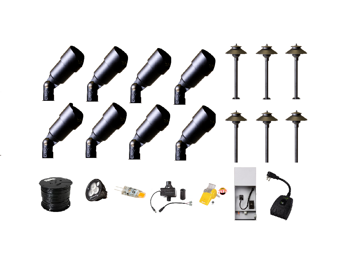 Shop High Quality Landscape Lighting Kit Wifi Control Diy Kit