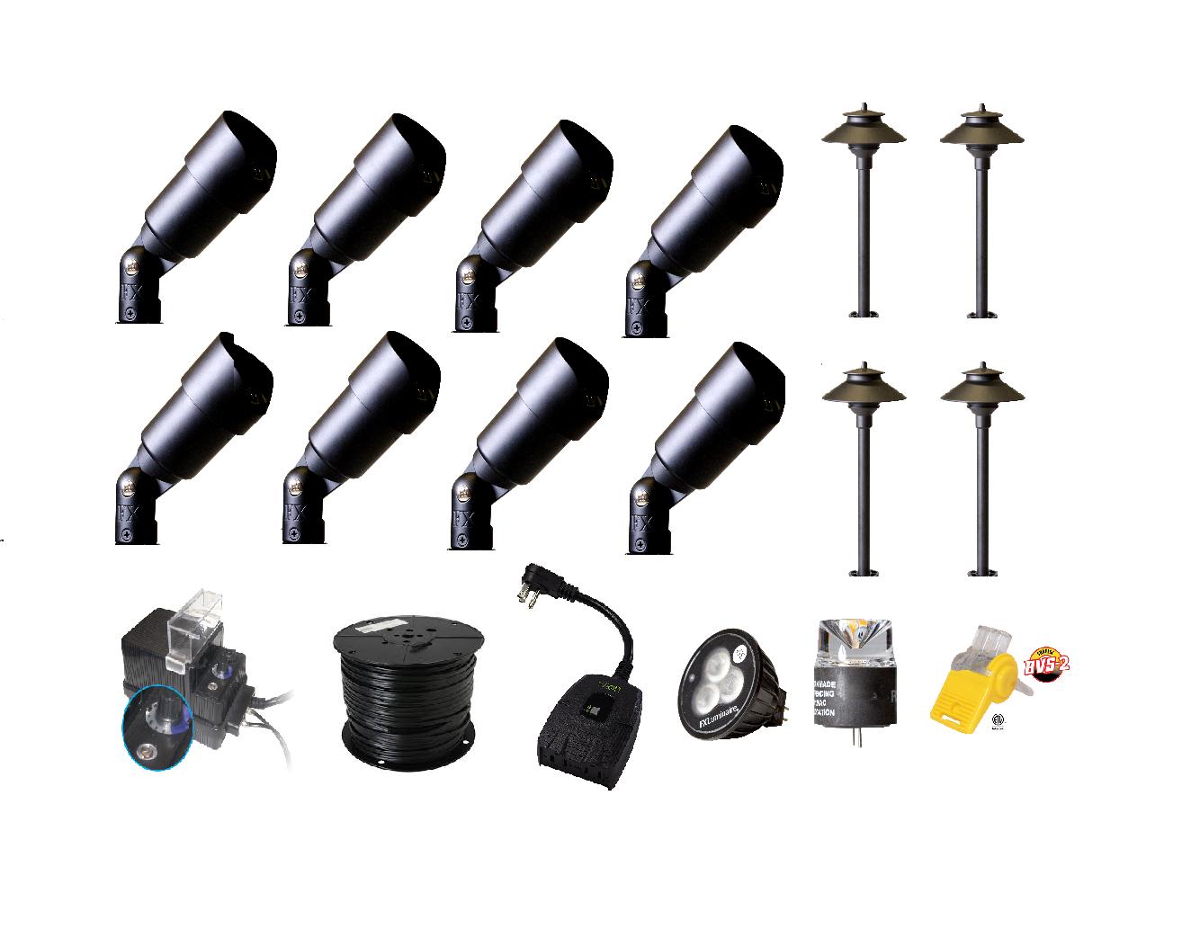 Best services led landscape lighting outdoor lighting canada for Quality landscape lighting
