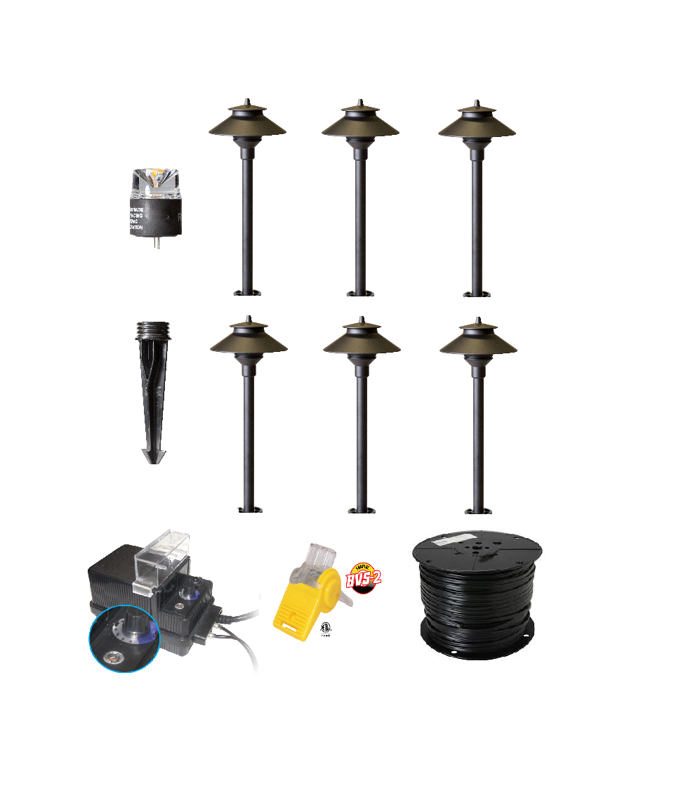 Outdoor Pathway Lighting Kits : Best led landscape lights garden lighting diy kit