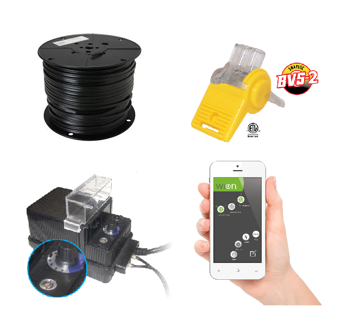 Landscape Lighting Power Transformer Low Voltage Wiring Kit