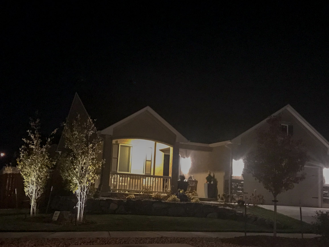 Curb appeal lighting
